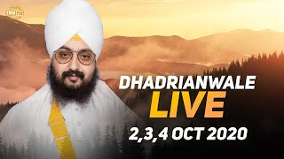 2 Oct 2020 - Live Diwan Dhadrianwale from Gurdwara Parmeshar