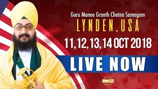 13 Oct 2018 - 3rd Day - Lynden - USA | Bhai Ranjit Singh Dhadrianwale