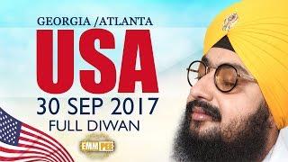 GEORGIA DIWAN - USA - 30 Sep 2017 - Full Diwan | Dhadrian Wale