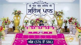 Angg  576 to 586 - Sehaj Pathh Shri Guru Granth Sahib | DhadrianWale