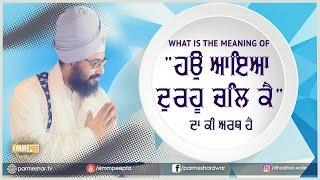 5_4_2017 - What is the meaning of Hau - Bhullar Heri | Bhai Ranjit Singh Dhadrianwale