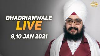 9 Jan 2021 Dhadrianwale Diwan at Gurdwara Parmeshar Dwar