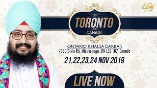 21Nov2019 Khalsa Darbar Ontario - Canada Kirtan Samagam | Bhai Ranjit Singh Dhadrianwale