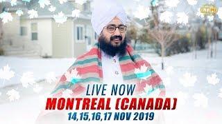 17Nov2019 Montreal Canada Diwan - Guru Manyo Granth Kirtan Samagam | Bhai Ranjit Singh Dhadrianwale