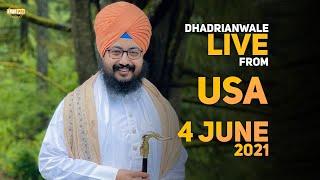 4 June 2021 Dhadrianwale LIVE NY USA Diwan