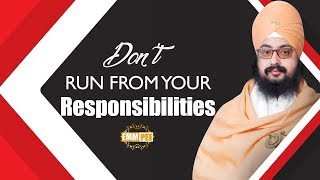 Full Diwan - Dont run from your Responsibilities | Bhai Ranjit Singh Dhadrianwale