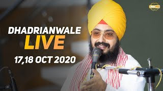 18 Oct 2020 Dhadrianwale Live Diwan at Gurdwara Parmeshar