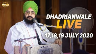 18 July 2020 - Live Diwan Dhadrianwale from Gurdwara Parmeshar Dwar Sahib