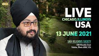 13 June 2021 Dhadrianwale LIVE Chicago Diwan