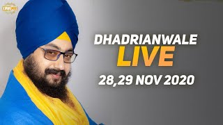 29 Nov 2020 Dhadrianwale Diwan at Gurdwara Parmeshar Dwar Sahib Patiala