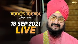 18 Sept 2021 Dhadrianwale Diwan at Gurdwara Parmeshar Dwar