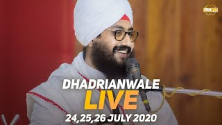 24 July 2020 - Live Diwan Dhadrianwale from Gurdwara Parmeshar Dwar Sahib