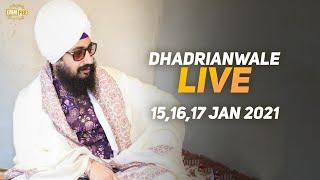 16 Jan 2021 Dhadrianwale Diwan at Gurdwara Parmeshar Dwar Sahib Patiala