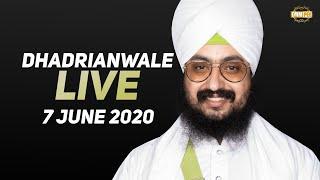 7 Jun 2020 Live Diwan Dhadrianwale from Gurdwara Parmeshar Dwar Sahib