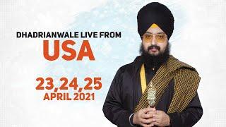 23 April 2021 Dhadrianwale LIVE USA Diwan