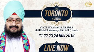 22Nov2019 Khalsa Darbar Ontario - Canada Diwan | DhadrianWale