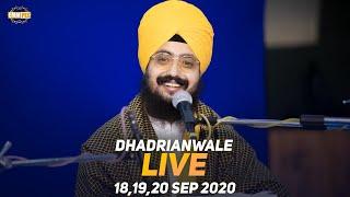 20 Sept 2020 - Live Diwan Dhadrianwale from Gurdwara Parmeshar Dwar Sahib
