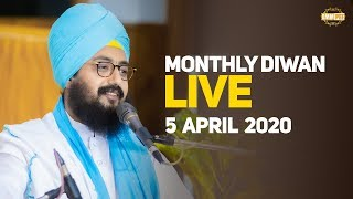 5 Apr 2020 Live Diwan from Gurdwara Parmeshar Dwar Sahib | Bhai Ranjit Singh Dhadrianwale