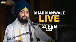 21Feb 2021 Dhadrianwale Diwan at Gurdwara Parmeshar Dwar Sahib Patiala