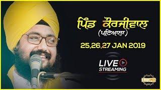 Day 2 - Korjiwal - Patiala - 26 Jan 2019 | Bhai Ranjit Singh Dhadrianwale