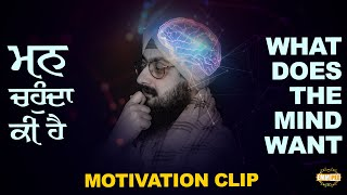 What does our mind wants? | Bhai Ranjit Singh Dhadrianwale