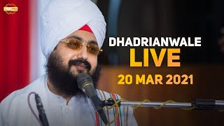 20 March 2021 Dhadrianwale Diwan at Gurdwara Parmeshar Dwar Sahib Patiala