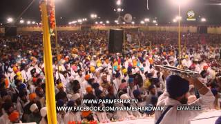 351 SIKHS RECEIVE AMRIT 2_5_2015 Parmeshar Dwar Dhadrianwale