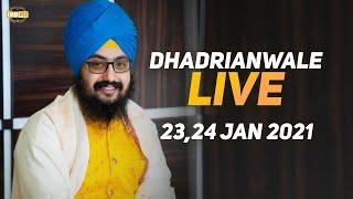 24 Jan 2021 Dhadrianwale Diwan at Gurdwara Parmeshar Dwar Sahib Patiala