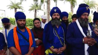 NEWS  20_05_16 NIHANG BABA GURDEV SINGH JI ASSASSINATION ATTEMPT ON DHADRIANWALE