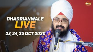 25 Oct 2020 Dhadrianwale Live Diwan at Gurdwara Parmeshar Dwar Sahib Patiala