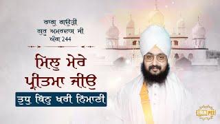 Mil Mere Pritama Jiyo | Bhai Ranjit Singh Dhadrianwale