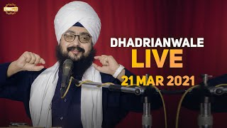 21 March 2021 Dhadrianwale Diwan at Gurdwara Parmeshar Dwar Sahib Patiala