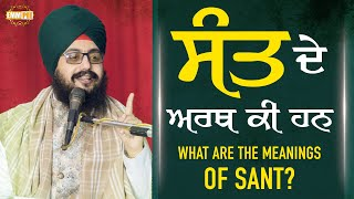 What are the Meanings of sants | Dhadrian Wale