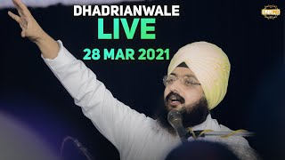 28 March 2021 Dhadrianwale Diwan at Gurdwara Parmeshar Dwar Sahib Patiala