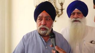 NEWS  20_05_16 PARAMJIT SINGH SARNA ASSASSINATION ATTEMPT ON DHADRIANWALE