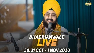 1Nov2020 Dhadrianwale Live Sunday Diwan at Gurdwara